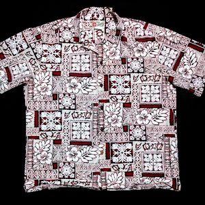 Hilo Hattie Mens XL Short Sleeve Button Up Shirt